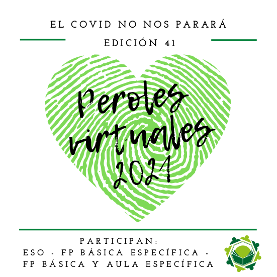 Cartel Peroles virtuales 2021