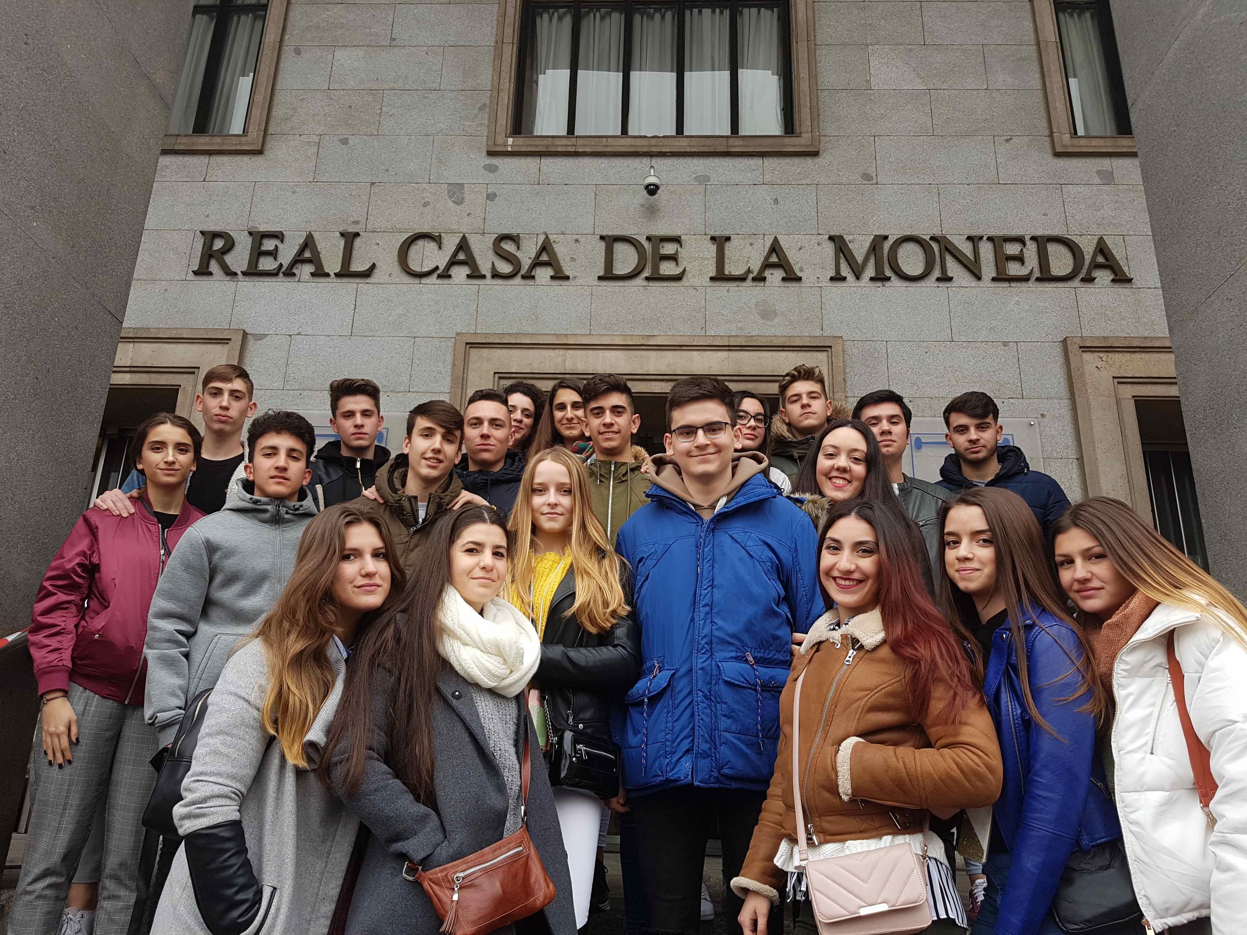 Viaje a madrid alumnado de econom a for Oficina virtual junta de andalucia educacion