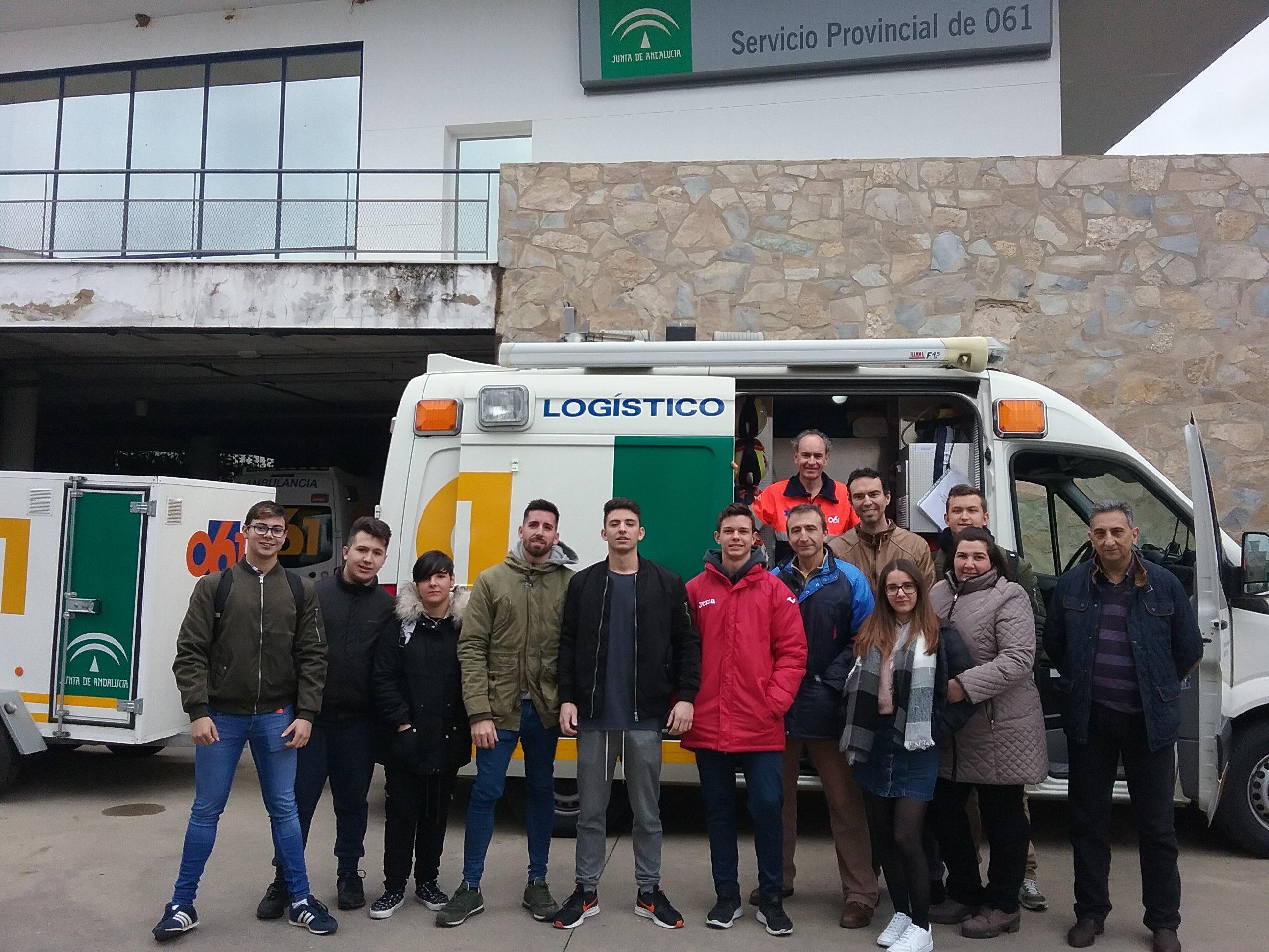 Visita al centro coordinador del 061 for Oficina virtual junta de andalucia educacion