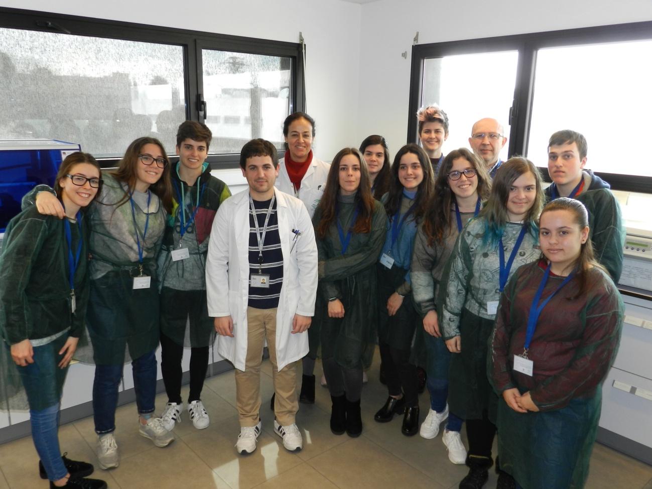 Visita al imibic 2 bachillerato for Oficina virtual junta de andalucia educacion