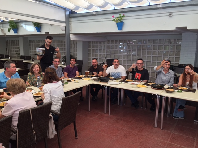 Almuerzo de bienvenida for Oficina virtual junta de andalucia educacion